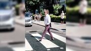 McCartney traverse Abbey Road