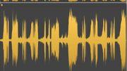 1. l'onde sonore d'un morceau classique