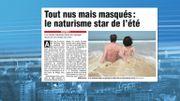 De nombreux Belges ont opté pour un séjour dans un camp naturiste cet été