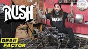 [Zapping 21] Mike Portnoy rend hommage à Neil Peart de Rush sur une mini-batterie