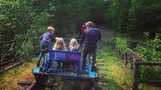 Escapade insolite en Belgique : les Draisines de la Molignéeen famille