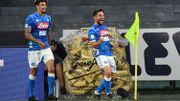 L'Inter corrigé à Naples avec un but et un assist de Mertens