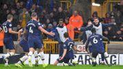 Vertonghen inscrit son premier but de la saison et offre la victoire à Tottenham à Wolverhampton