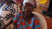 Gladys Adobea, pensionnaire de la léproserie depuis 1950.