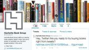 Hachette teste la vente de livres sur Twitter aux Etats-Unis
