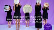 Pour les fêtes, optez pour des cadeaux d'artistes belges!