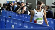 """Beaucoup de mal à finir ma course"", constate Jonathan Borlée"