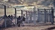 La zone de transit de Röszke où seront dorénavant emprisonnés les demandeurs d'asile