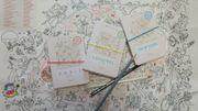 Idée cadeau : Trois guides à colorier Miniminimap à l'effigie de la maison Bonpoint