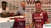 Aaron Leya Iseka, prêté, et Michaël Heylen prennent congé d'Anderlecht pour Zulte Waregem