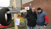Roger Pereira, 52 ans, mécanicien et Daniel Moïse, 47 ans, ajusteur chez Mecamold