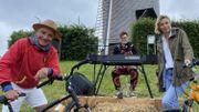 Beau Vélo de RAVeL 2021, quatrième étape à Comines avec Julie Morelle et Antoine Delie!