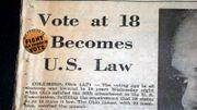 Only In America: 50e anniversaire de ''26 Amendment'', le droit de voter à 18 ans