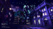 Les lumières de la ville de Los Ojos