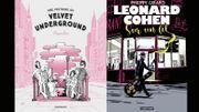 Comics Street: Une histoire du Velvet Underground – Leonard Cohen Sur un fil
