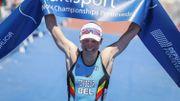 Alexandre Tondeur a conquis le titre de championne du monde de triathlon le 4 mai 2019 à Pontevedra en Espagne. Elle espère pouvoir remettre son titre en jeu en 2021.