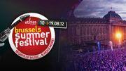 Le Brussels Summer Festival attend 110.000 visiteurs