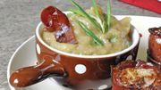 Recette : Filet de veau aux pommes et speck