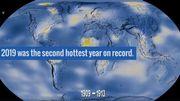 2019 était la deuxième année la plus chaude jamais enregistrée