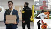 """Ricciardo au bureau, les peluches de Lewis et les passe-temps de Mick Schumacher dans le """"Zapping"""" F1"""