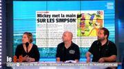 Mickey met la main sur les Simpson... Ca sent le monopole !