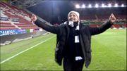 Communion pleine d'émotions pour Mazzu avec les fans carolos