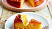 Recette de Candice : Cake de polenta à la mangue (sans-gluten)