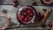 Recette de Candice : Conserve de fruits rouges à l'alcool facile de chez facile