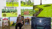 Le peintre britannique David Hockney à l'honneur cet automne à Bozar