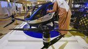 Monteriez-vous à bord d'un taxi-drone?