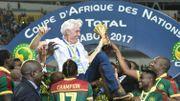 Le Cameroun de Hugo Broos bat l'Egypte et remporte la CAN