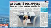 La qualité des appels dans les trains va être améliorée