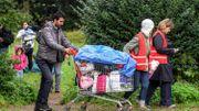Tout à été évacué: tentes, sacs de couchage, et installations sanitaires