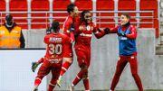 Charleroi s'incline face à un Antwerp renversant et rate son dernier rendez-vous de l'année (2-1)