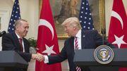 Trump reçoit Erdogan, malgré les tensions et les controverses