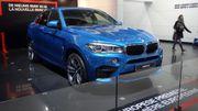 BMW X6 M, première européenne