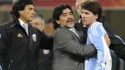"""Diego est éternel"", l'adieu de Lionel Messi à son compatriote Maradona"