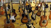 Des guitares d'Eric Clapton vendues aux enchères pour la bonne cause