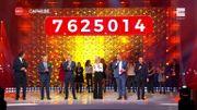 Soirée de clôture de CAP48: record de dons battu avec plus de 7,6millions d'euros récoltés