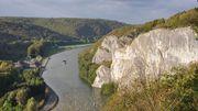 Les rochers de Freÿr à Dinant, patrimoine majeur de Wallonie