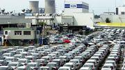L'usine Ford de Genk au début des années 2000