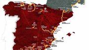 Vuelta 2017: Neuf arrivées au sommet, dont l'Angliru, et un départ de Nîmes