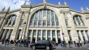 A Paris, la gare du Nord aux couleurs du pharaon Toutankhamon