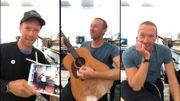 Des violons à distance dans ce nouveau concert de Coldplay par Chris Martin