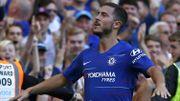 Eden Hazard élu joueur du mois de septembre en Premier League
