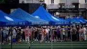 Plus de 76.000 personnes ont été testées selon les autorités de la ville de Pékin