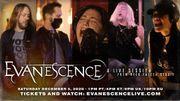 Evanescence en livestream le 5décembre