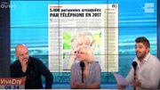 5400 personnes arnaquées par téléphone en 2017 !