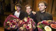 Boris Giltburg, Rémi Geniet et Mateusz Borowiak, le trio de tête du Concours 2013