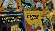 Un collectionneur belge retrouve une planche originale de Tintin derrière un meuble